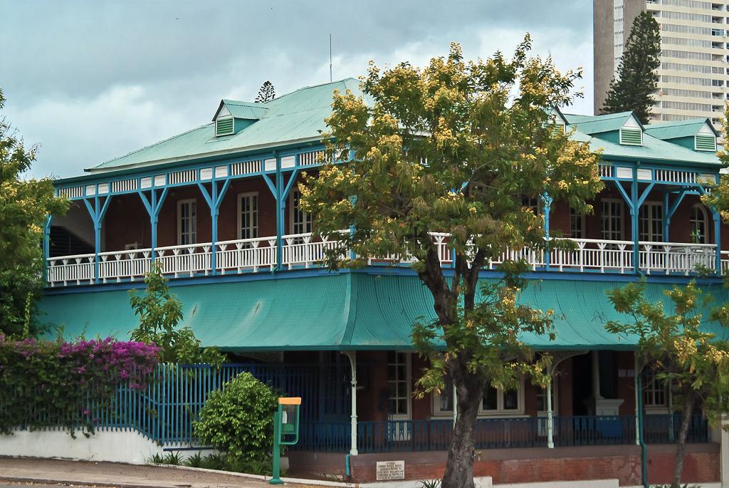 Centro Cultural Franco-Mozambicano en Maputo, Mozambique.