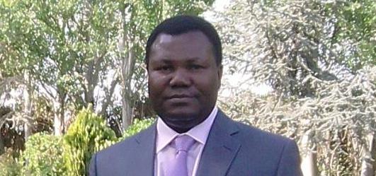 El escritor togolés Mark Djadou.