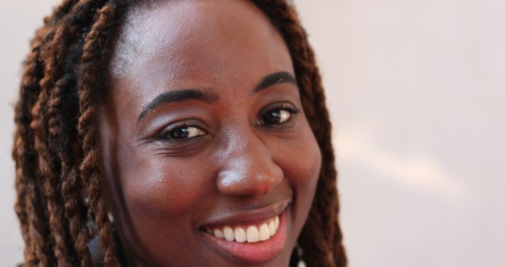 Mary Okeke, autora del blog http://maryokekereviews.blogspot.com.es/. Foto: Carlos Bajo
