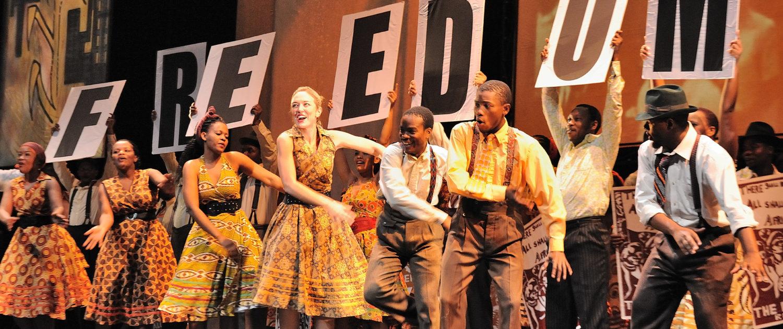 La ópera recoge la lucha a favor de la Carta de Libertad impulsada por el Congreso Nacional Africano / Foto: John Snelling