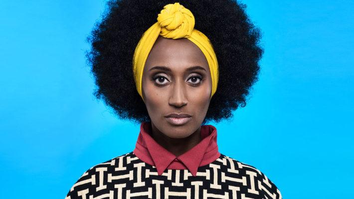Hannah Azieb Pool, directora de los programas de AFRICA UTOPIA. Imagen de Okayafrica.