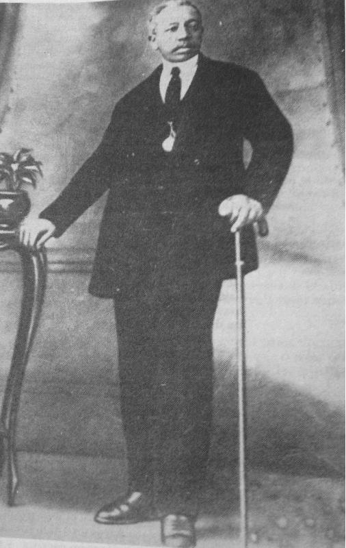 Una imagen del payador argentino Gabino Ezeiza.