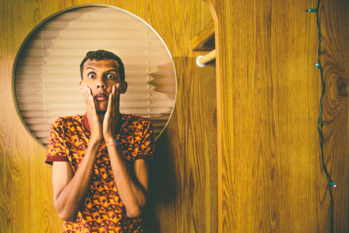 Stromae // Coachella 2015 // Shot for Pitchfork. © Pooneh Ghana