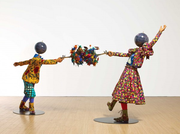 Flower Power Kids (Dueling), Royal Academy (Londres). http://www.yinkashonibarembe.com/resources/content/artwork/2/311/medium_1453214805.jpg