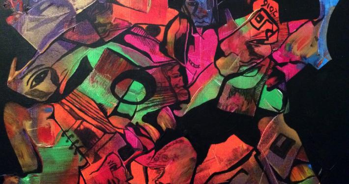 """""""Deconstrucción"""", de Justo Alioundine Nguema Pouye."""
