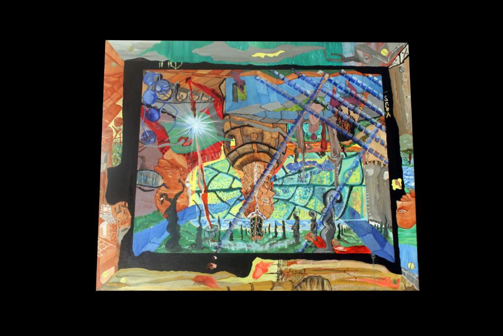 """""""El templo"""", de Justo Alioundine Nguema Pouye."""