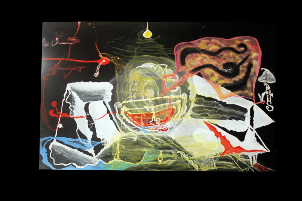 """Magia negra"", de Justo Alioundine Nguema Pouye."