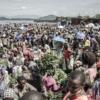 Retrato del coronavirus en los mercados de Goma