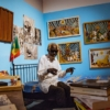 Abdoulaye Ndiaye Thiossane, músico-pintor: trayectoria del artista polivalente